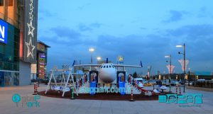 temalı uçak oyun parkı