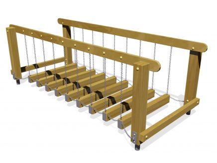 AHŞAP DENGE KÖPRÜSÜ – Mini Suspension Bridge