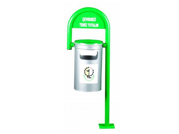 Baston Tipi Sabit Dış Mekan Çöp Kovası – CKM 109