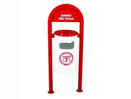 İki Ayaklı Dış Mekan Çöp Kovası – CKM 112