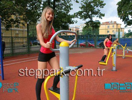 Rusya açık alan park spor aletleri