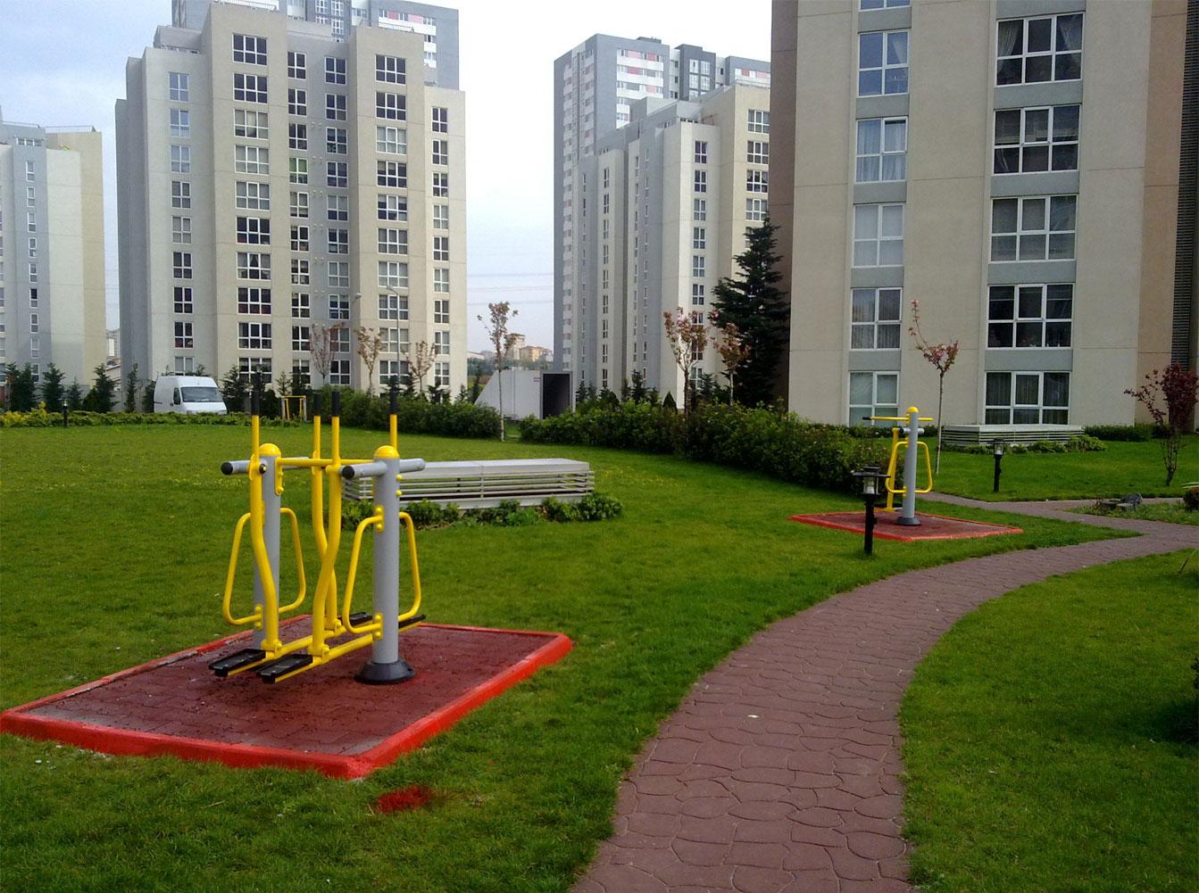 Ağaoğlu park spor fitness aletleri