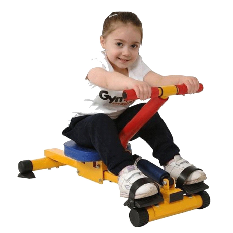 Çocuk fitness kürek çekme aleti