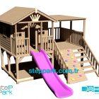 Suudi Arabistan Ahşap Çocuk Oyun Evi