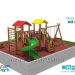 çocuk oyun parkı 3ds max vray