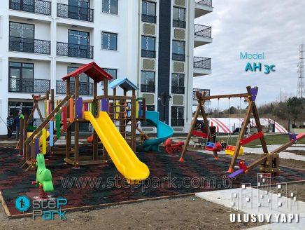 Edirne Ulusoy Yapı Ahşap Oyun Parkı